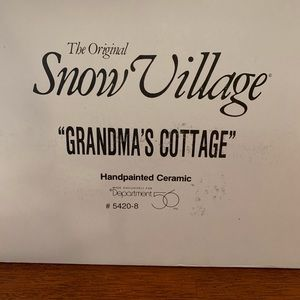 Grandma's Cottage